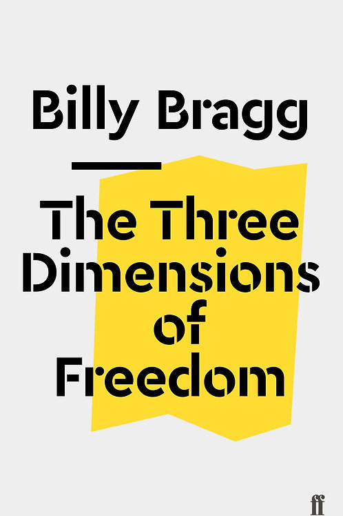 Billy Bragg - The Three Dimensions Of Freedom (Pamphlet)