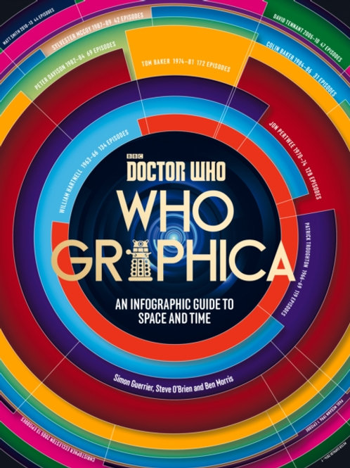 Doctor Who : Whographica : An Infographic Guide To Space And Time (HARDBACK)