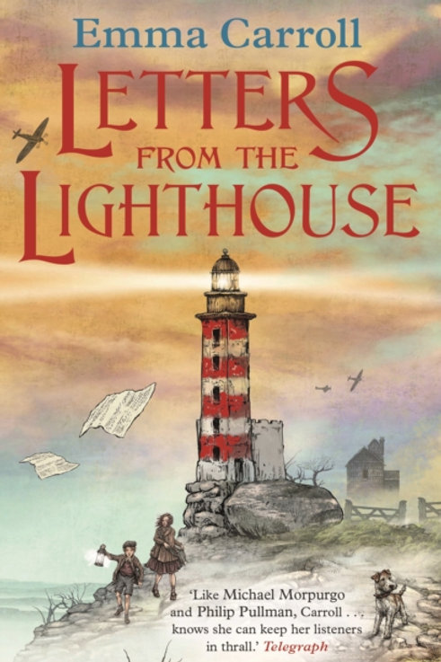 Emma Carroll - Letters From The Lighthouse (AGE 8+)