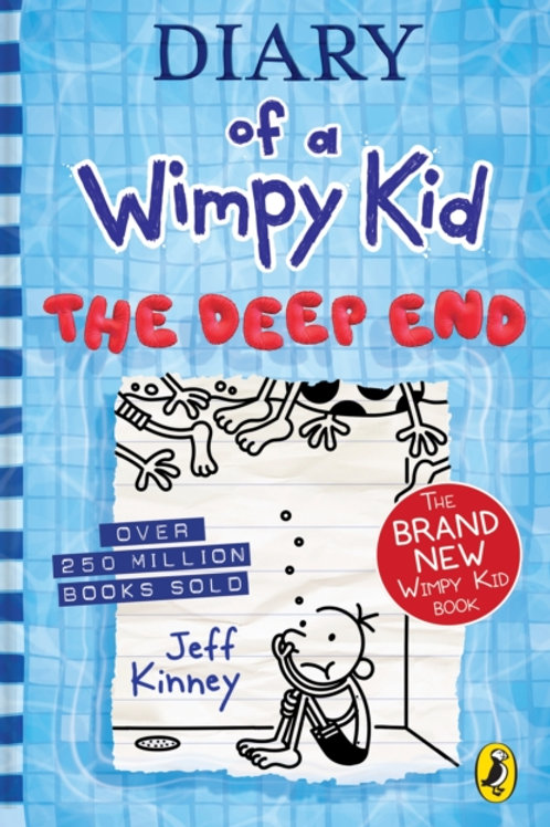 Jeff Kinney - Diary Of A Wimpy Kid : The Deep End (AGE 8+) (HB) (15th In Series)