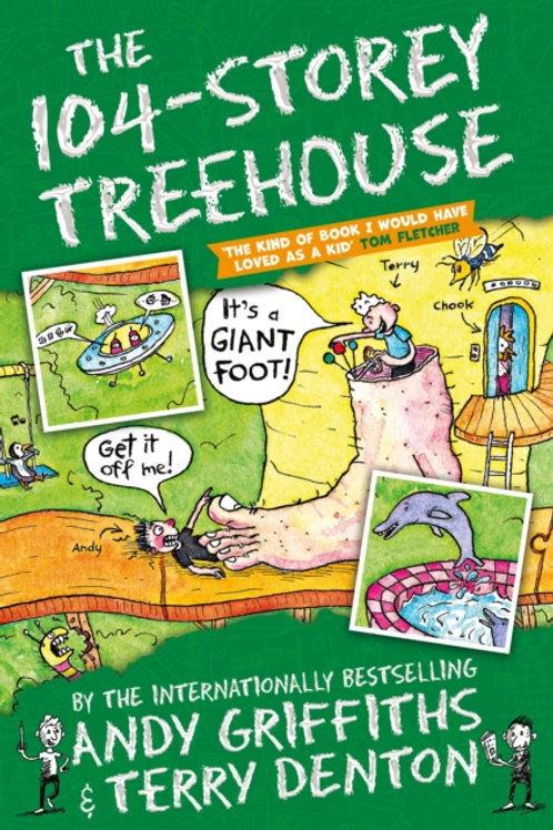 Andy Griffiths - The 104-Storey Treehouse (AGE 7+) (8th In Series)