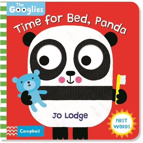 Jo Lodge - Time for Bed, Panda  (AGE 0-2) (HARDBACK)