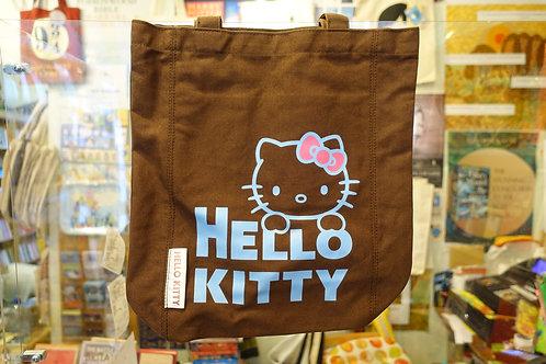 Hello Kitty Tote Bag (Brown)