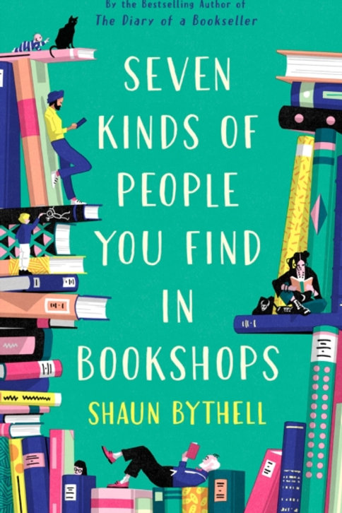 Shaun Bythell - Seven Kinds Of People You Find In Bookshops (SIGNED) (HARDBACK)