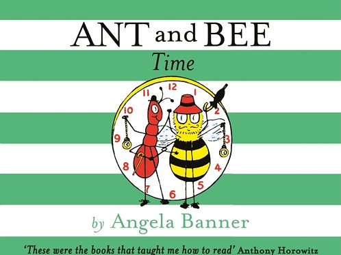 Angela Banner - Ant And Bee Time (AGE 3+) (HARDBACK)