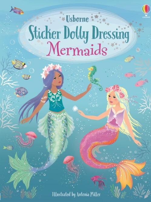 Fiona Watt - Sticker Dolly Dressing Mermaids (AGE 5+)
