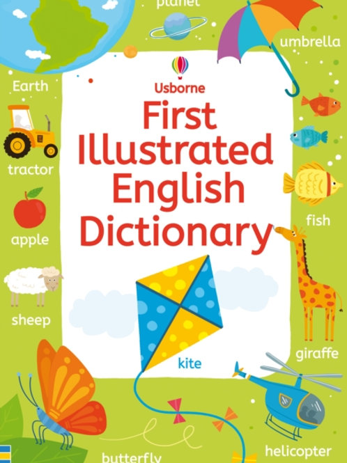 Rachel Wardley - First Illustrated English Dictionary (AGE 5+)