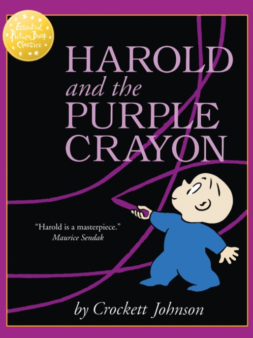 Crockett Johnson - Harold And The Purple Crayon (AGE 3+)