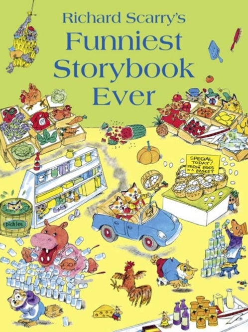 Richard Scarry - Funniest Storybook Ever (AGE 3+)