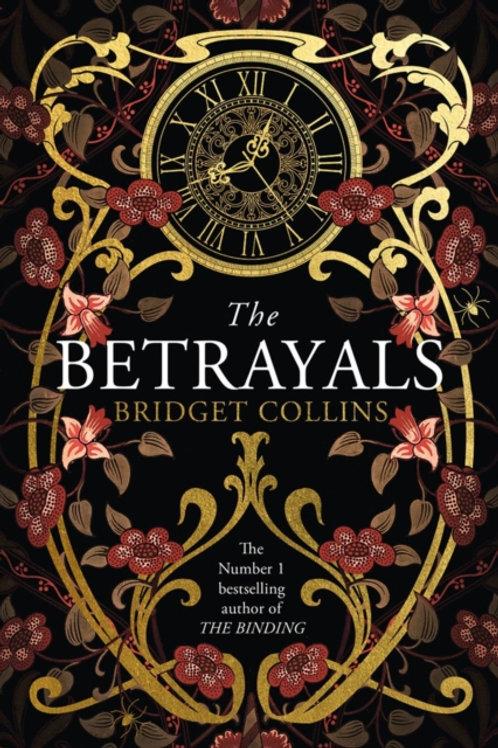 Bridget Collins - The Betrayals (SIGNED COPY) (HARDBACK)