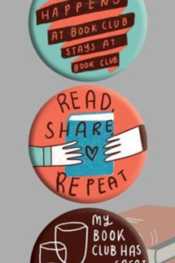 Book Club 3 Badge Set