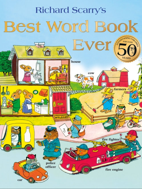 Richard Scarry - Best Word Book Ever (AGE 3+)