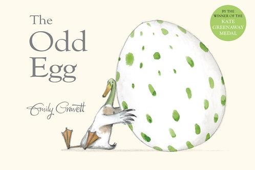 Emily Gravett - The Odd Egg (AGE 2+)
