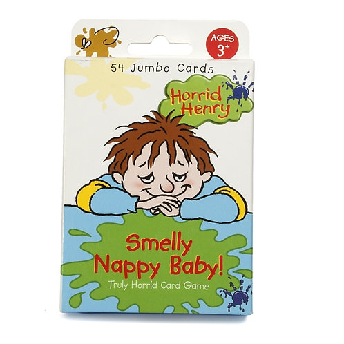 Horrid Henry Smelly Nappy Baby! Card Game (AGE 3+)