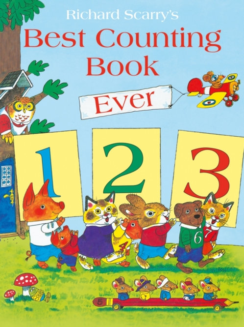 Richard Scarry - Best Counting Book Ever (AGE 3+)