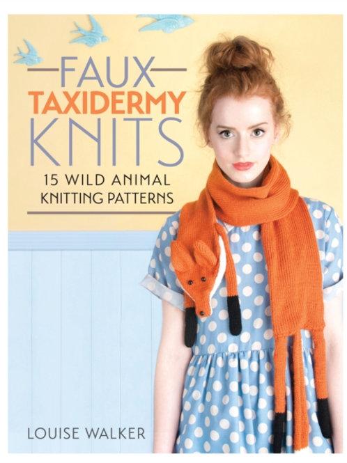 Louise Walker - Faux Taxidermy Knits