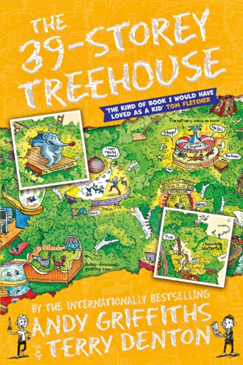 Andy Griffiths  - The 39-Storey Treehouse (AGE 7+) (3rd In Series)