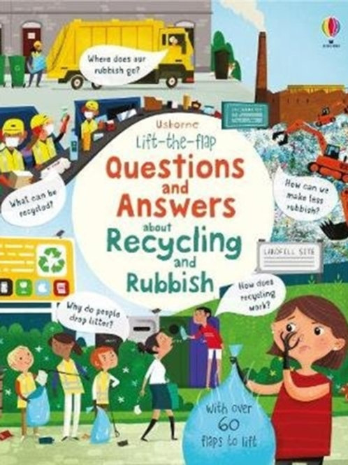 Katie Daynes - Lift The Flap Questions And Answers About Recycling (AGE 5+) (HB)