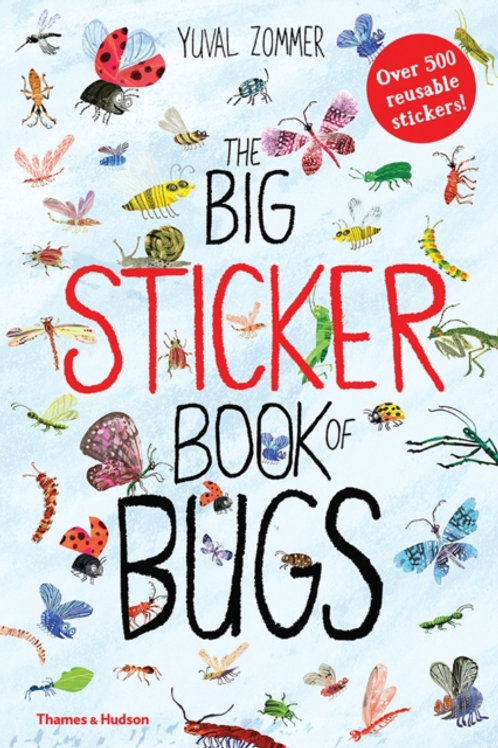 Yuval Zommer - The Big Sticker Book Of Bugs (AGE 5+)
