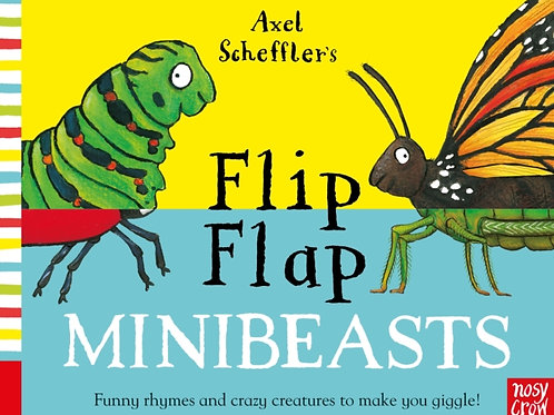 Axel Scheffler - Flip Flap Minibeasts (AGE 2+) (HARDBACK)