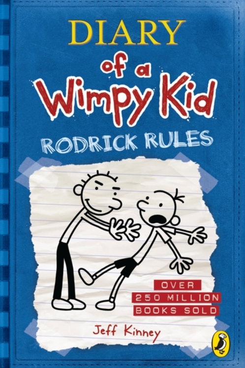 Jeff Kinney - Diary Of A Wimpy Kid: Rodrick Rules (AGE 8+) (2nd In Series)