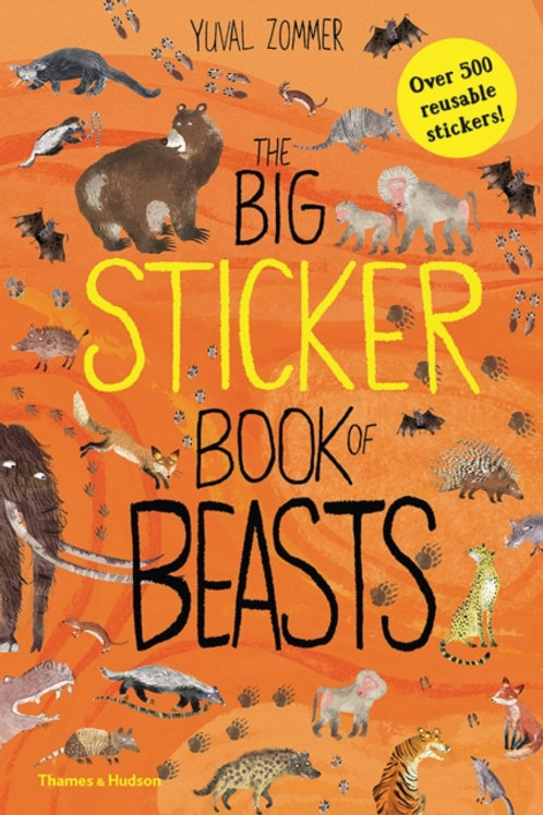 Yuval Zommer - The Big Sticker Book Of Beasts (AGE 5+)