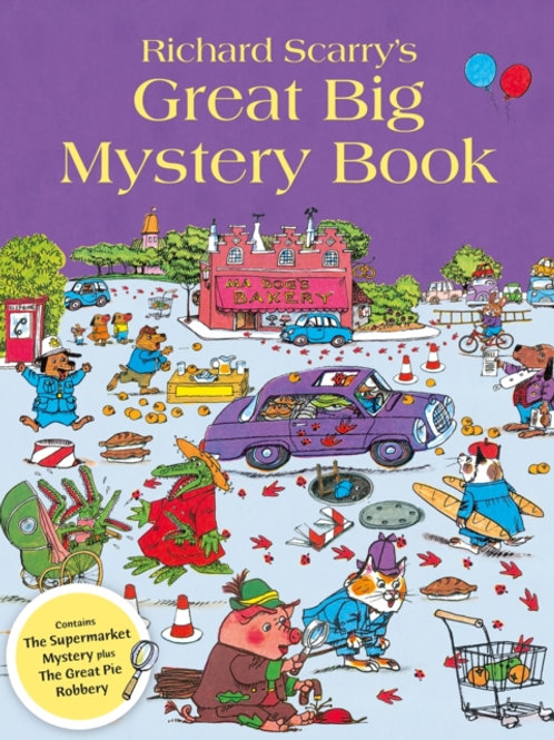 Richard Scarry - Great Big Mystery Book (AGE 3+)