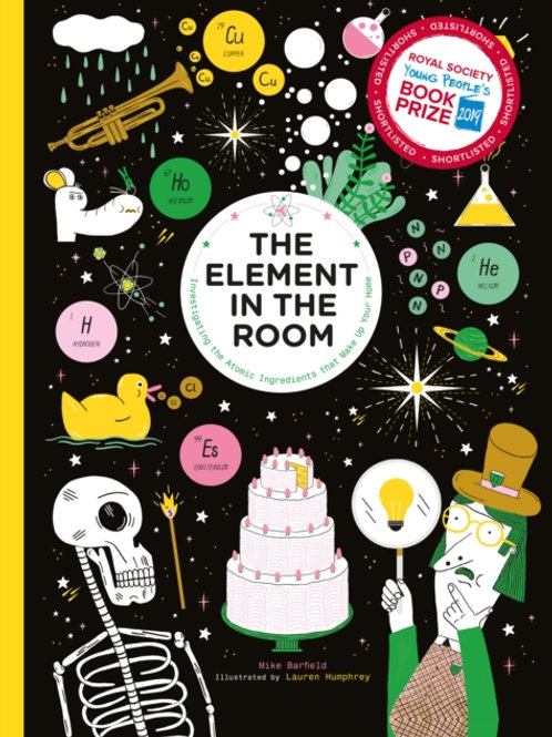 Mike Barfield - The Element In The Room (AGE 6+) (HARDBACK)