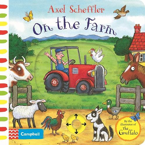 Axel Scheffler - On The Farm : A Push, Pull, Slide Book (AGE 2+) (HARDBACK)