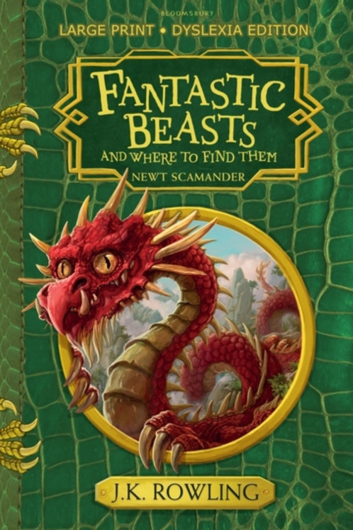 J.K. Rowling - Fantastic Beasts And Where To Find Them (AGE 8+)