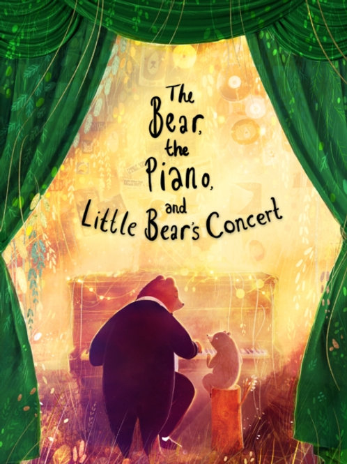 David Litchfield - The Bear, The Piano And Little Bear's Concert (AGE 4+)