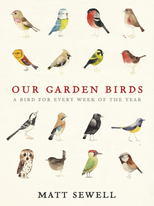Matt Sewell - Our Garden Birds : A Bird For Every Week Of The Year (HARDBACK)