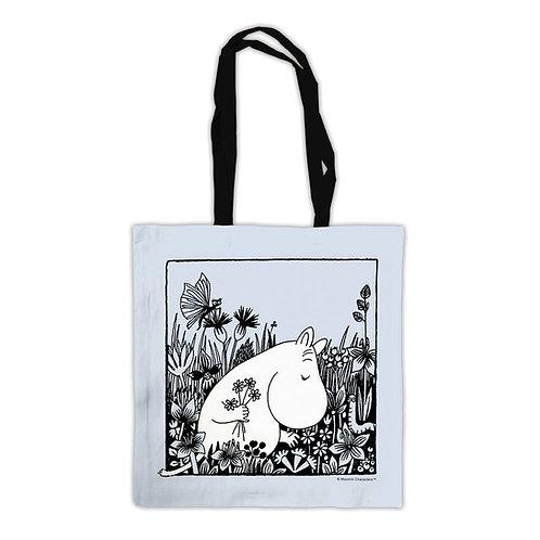 Moomin Tote Bag - Flowers