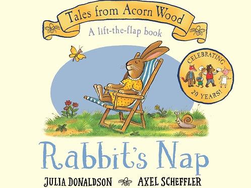 Julia Donaldson - Rabbit's Nap (AGE 2+) (HARDBACK)