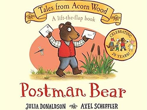 Julia Donaldson - Postman Bear (AGE 2+) (HARDBACK)