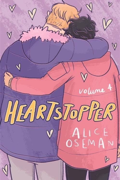 Alice Oseman - Heartstopper Volume Four (SIGNED BOOKPLATE EDITION)