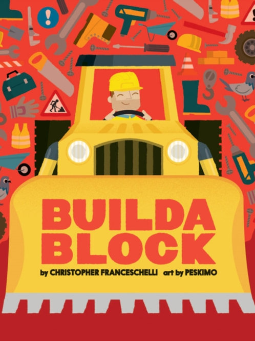 Christopher Franceschelli - Buildablock (AGE 3+) (HARDBACK)