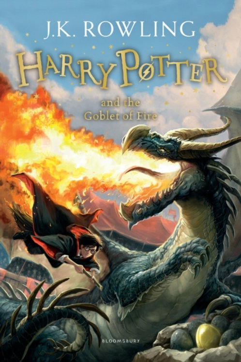 J.K. Rowling - Harry Potter And The Goblet Of Fire (AGE 8+) (4th In Series)