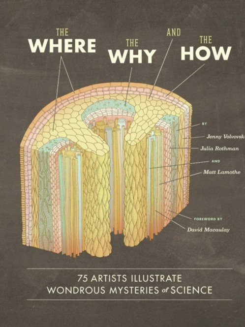 The Where Why, And the How : 75 Artists Illustrate Mysteries Of Science (HB)