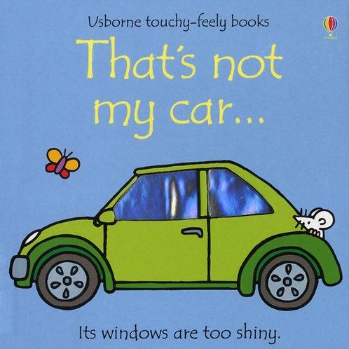 Fiona Watt - That's Not My Car (AGE 0+) (HARDBACK)