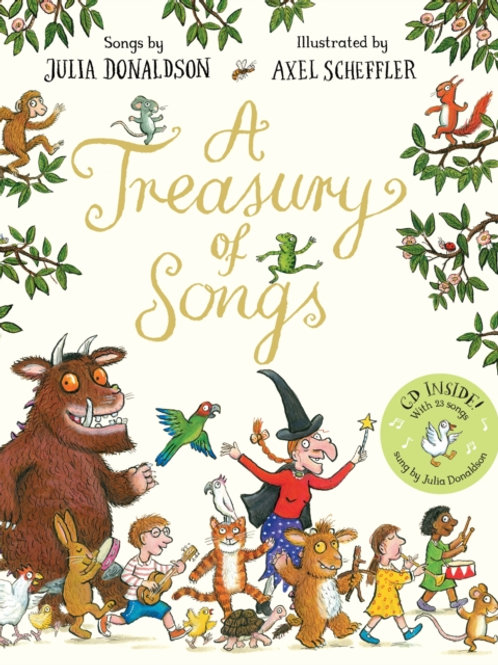 Julia Donaldson - A Treasury Of Songs : Book And CD Pack (AGE 3+)