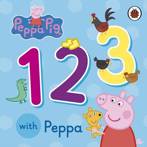 123 With Peppa Pig (AGE 1+) (HARDBACK)