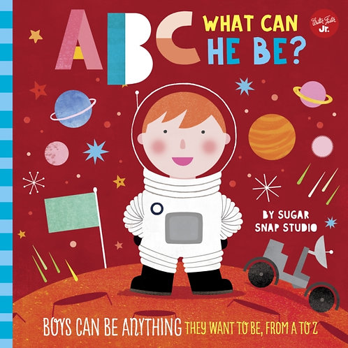Jessie Ford - ABC What He Can Be (AGE 3+) (HARDBACK)