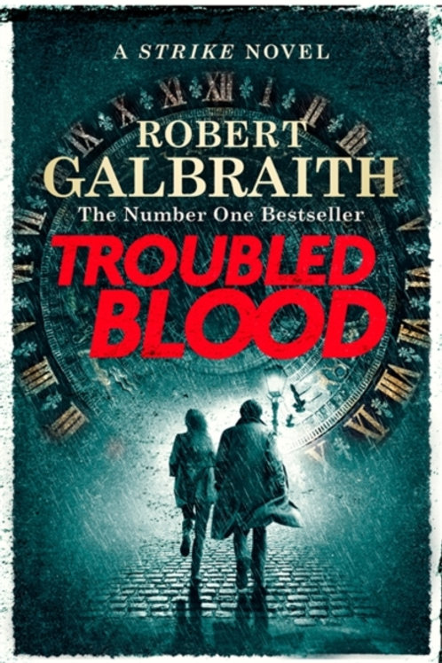 Robert Galbraith - Troubled Blood (HARDBACK) (5th In Series)