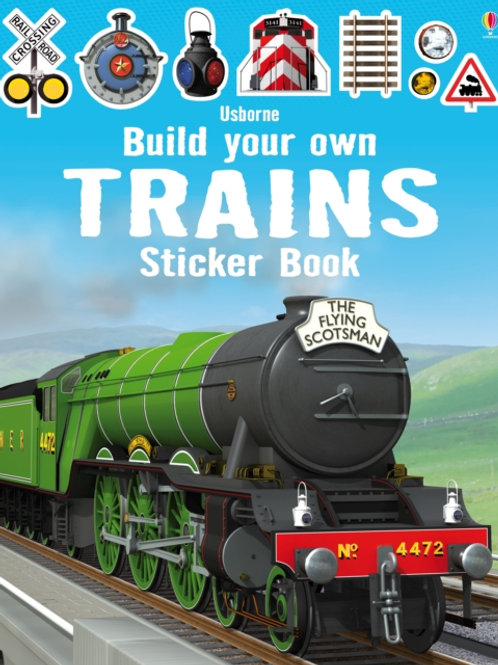 Simon Tudhope - Build Your Own Trains Sticker Book (AGE 5+)