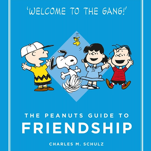 Charles M. Schulz - The Peanuts Guide To Friendship (HARDBACK)