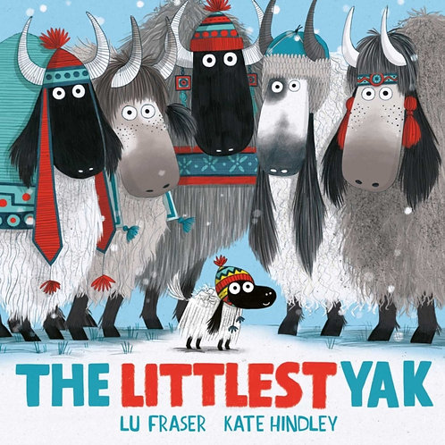 Lu Fraser - The Littlest Yak (AGE 3+)