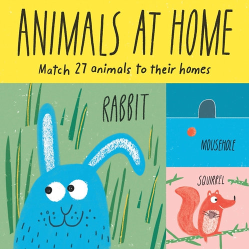 Animals at Home : Match 27 Animals To Their Homes (AGE 3+)