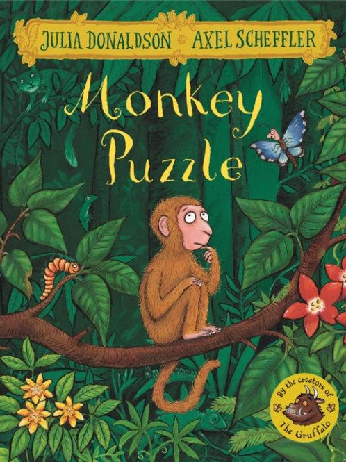 Julia Donaldson - The Monkey Puzzle (AGE 3+)