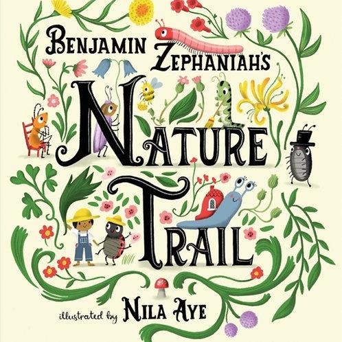 Benjamin Zephaniah - Nature Trail (SIGNED BOOKPLATE EDITION) (AGE 3+) (HARDBACK)